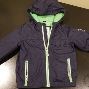 Thin lined rain coat size 24 months